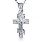 Православные платиновые кресты