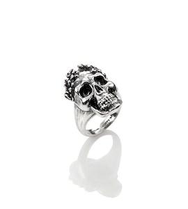 "Кольцо ""Wreathed Skull"" cod. 10097"