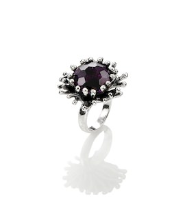 "Кольцо ""Purple Flower"" cod. 10140"