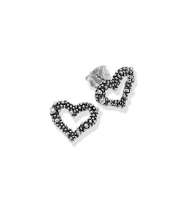 "Серьги ""Perlage Heart Earrings"" cod. 10149"