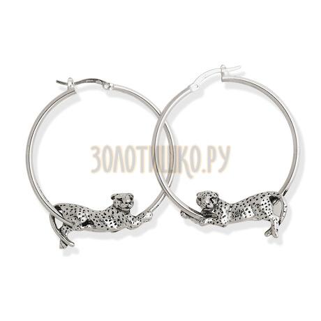 "Серьги ""Leopard Ring Earrings"" cod. 6280"