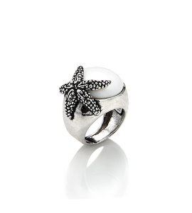 "Кольцо ""Starfish Agata"" cod. 7223"