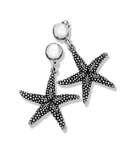 "Серьги ""Starfish Pendant Earrings"" cod. 7352"