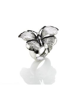 "Кольцо ""Butterfly"" cod. 7546"