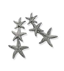 "Серьги ""Seastars Pending Earrings"" cod. 7602"