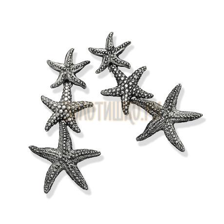"Серьги ""Seastars Pending Earrings"" cod. 7602"