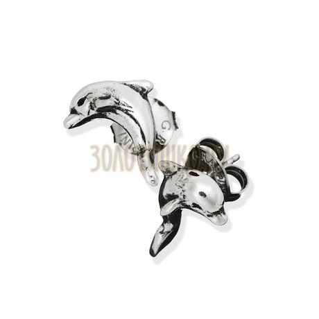 """Серьги """"Mini Dolphin Earrings"""" cod. 8000"""