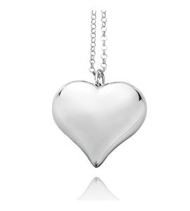 """Подвеска с цепочкой """"Heart"""" cod. 8402"""