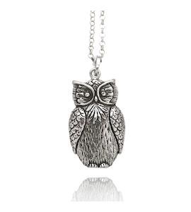 """Подвеска с цепочкой """"Owl"""" cod. 8406"""