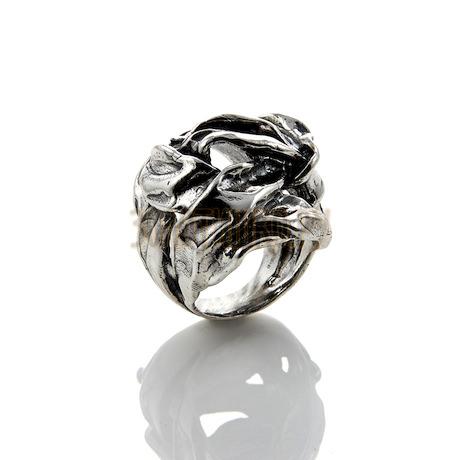 """Кольцо """"Silver Ribbon"""" cod. 8428"""