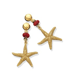 "Серьги ""Starfish Capri Earrings"" cod. 8530"