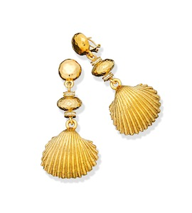 "Серьги ""Shell Earrings"" cod. 8535"