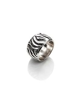 "Кольцо ""Zebra"" cod. 8801"
