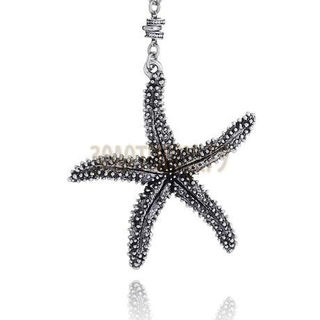 """Подвеска с цепочкой """"Big Starfish"""" cod. 8829"""