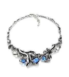 "Колье ""Blue Orchid"" cod. 9266"