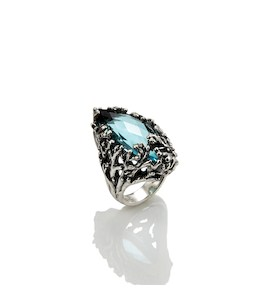 "Кольцо ""Coral Navette"" cod. 9285"