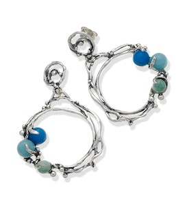 "Серьги ""Ocean Earrings"" cod. 9756"