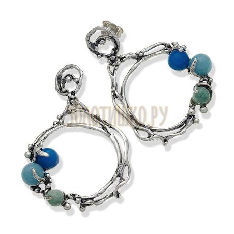 """Серьги """"Ocean Earrings"""" cod. 9756"""