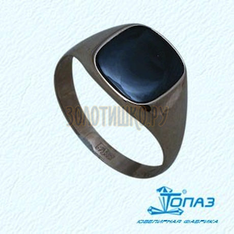 Кольцо с ониксом 102425446