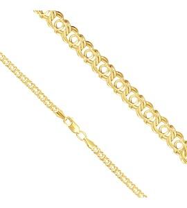 Браслет из желтого золота БГР10290060