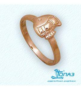 Кольцо из красного золота Т10001925