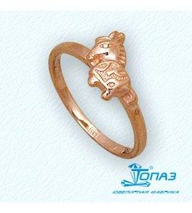 Кольцо из красного золота Т10001937