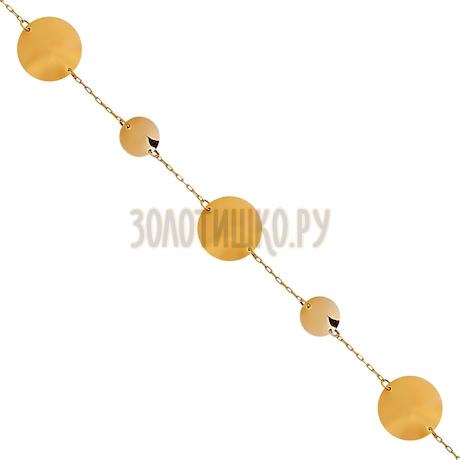 Браслет из красного золота Т10010343