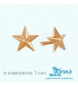 Знак из красного золота Т10014006