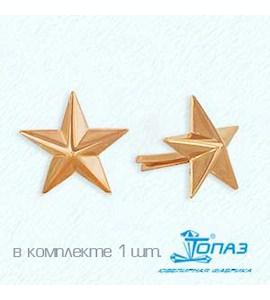 Знак из красного золота Т10014007