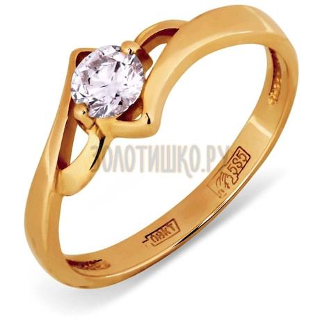 Кольцо с бриллиантом Т10101404
