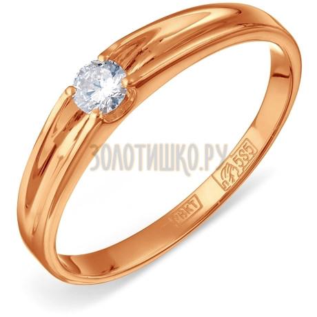 Кольцо с бриллиантом Т10101427