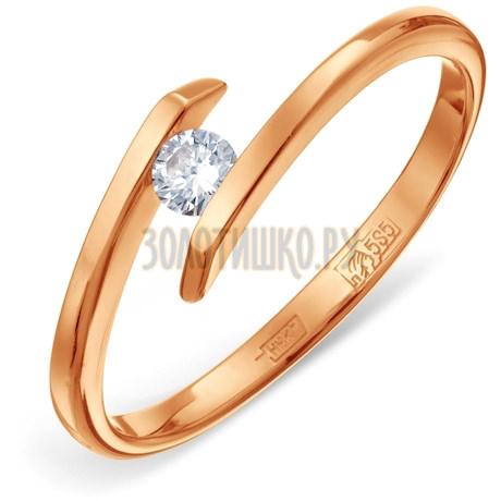 Кольцо с бриллиантом Т10101492