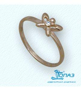 Кольцо с бриллиантом Т10101673