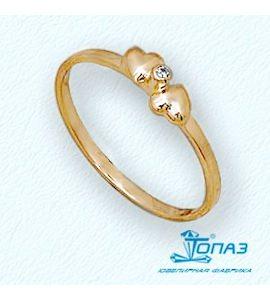 Кольцо с бриллиантом Т10101674