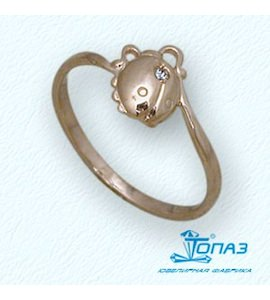 Кольцо с бриллиантом Т10101676