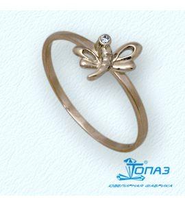 Кольцо с бриллиантом Т10101678
