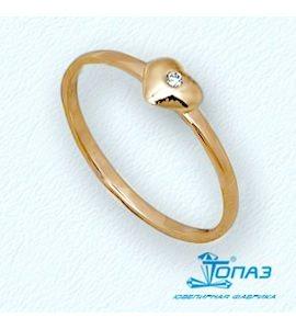 Кольцо с бриллиантом Т10101680