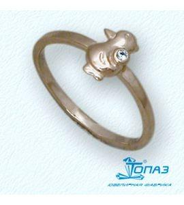 Кольцо с бриллиантом Т10101684