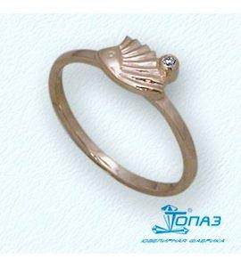 Кольцо с бриллиантом Т10101690