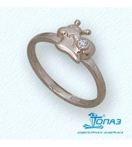 Кольцо с бриллиантом Т10101691