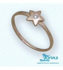 Кольцо с бриллиантом Т10101692