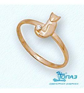 Кольцо с бриллиантом Т10101694