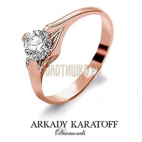 Кольцо с бриллиантом Т10101973
