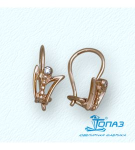 Серьги с бриллиантами Т10102593