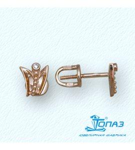 Серьги с бриллиантами Т10102594