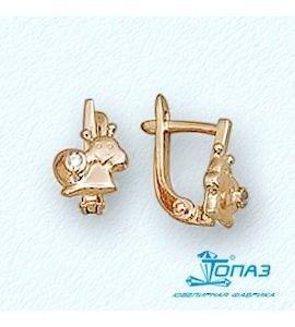 Серьги с бриллиантами Т10102659