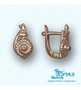 Серьги с бриллиантами Т10102885