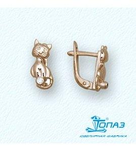 Серьги с бриллиантами Т10102909