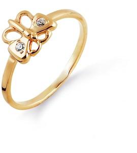 Кольцо из красного золота Т10201682