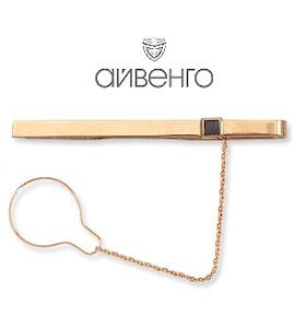 Зажим для галстука с фианитом Т11208027